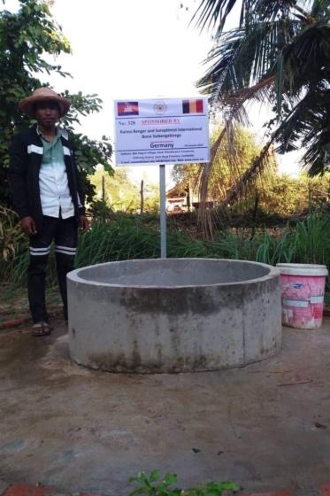 Brunnen in Kambodscha