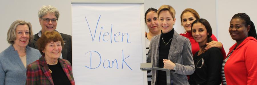 Bonner Soroptimistinnen unterstützen Mütter mit Migrationshintergrund