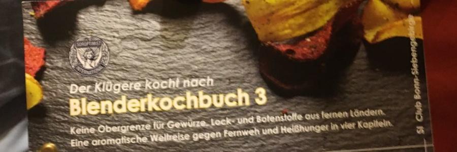 "Blenderkochbuch Nr. 3 bestellen (siehe Menü ""Produkt"")"