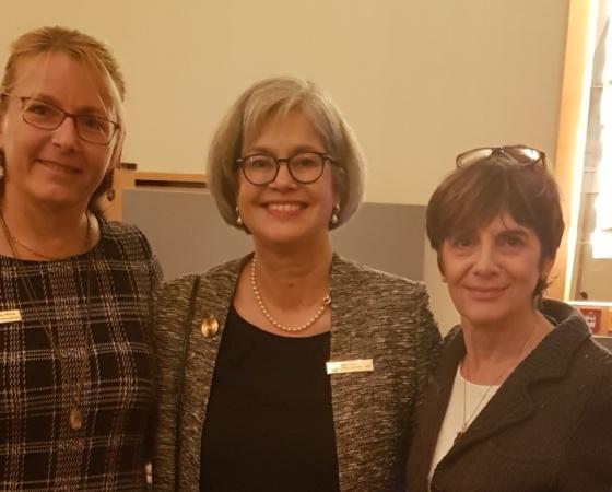 Schriftführerinnen- und Präsidentinnentreffen in Magdeburg