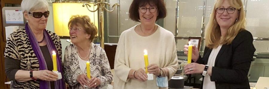 Kerzenzeremonie 100 Jahre SI